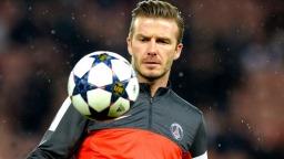 Cầu thủ bóng đá David Beckham hình ảnh