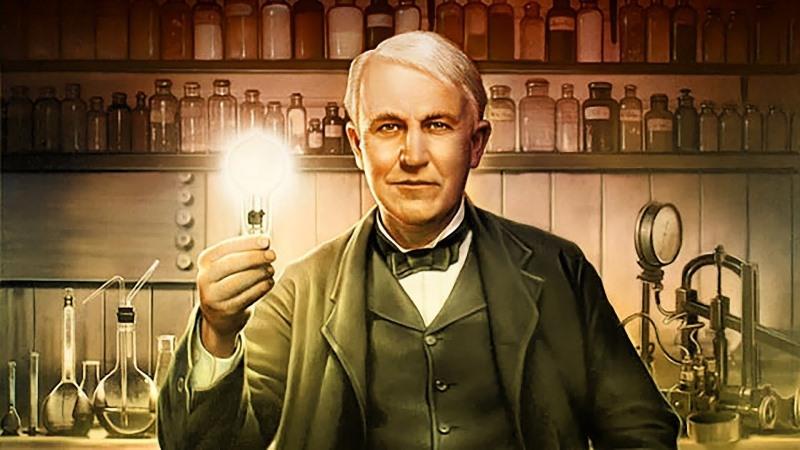 Nhà phát minh người Mỹ Thomas Edison (Hình ảnh 1) - nổi danh